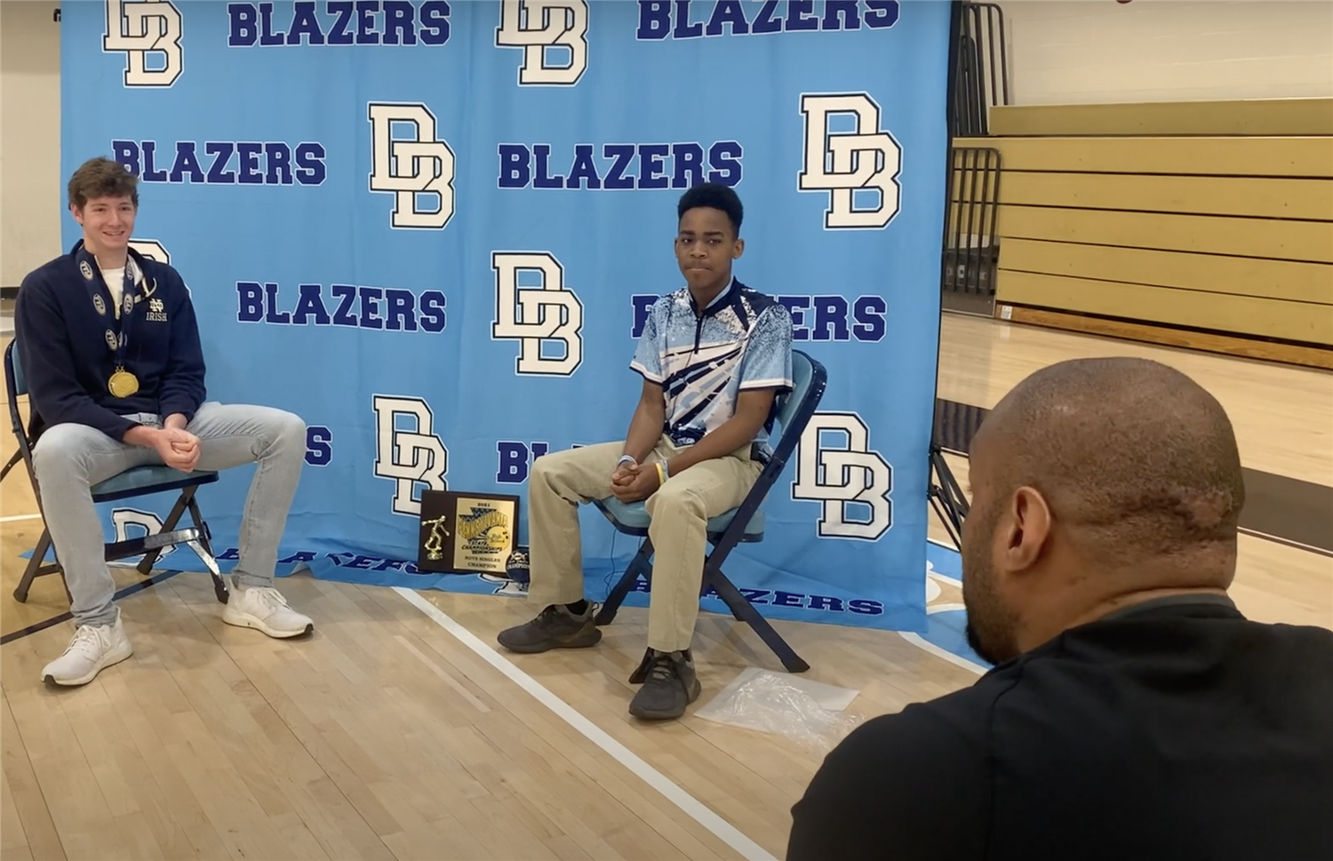Mr. Flowers sits down with Chris Guiliano and Alex Horton to discuss their recent PA Gold Medals.