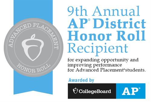 AP District Honor Roll Recipient